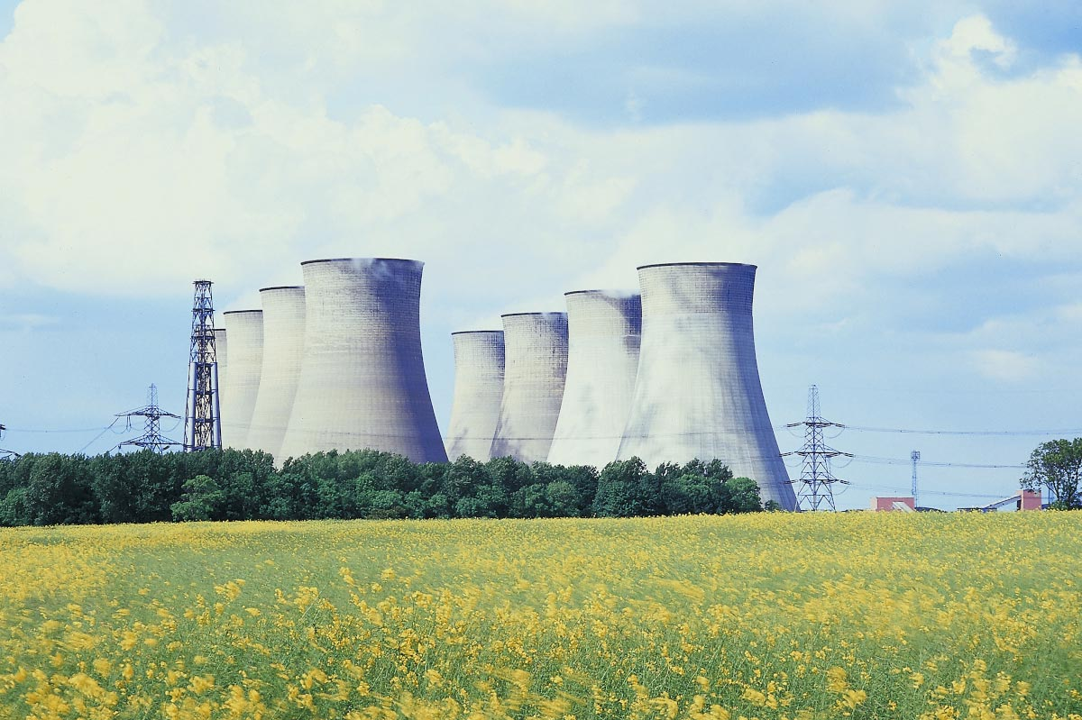 Nuclear-Power-Plant-Stacks-Radiation