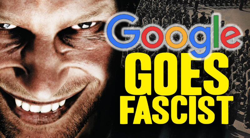 Election interference ALERT: Google / YouTube now blatantly